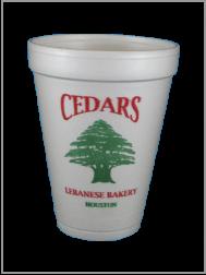 Cup Printing Ceders 2 Colors