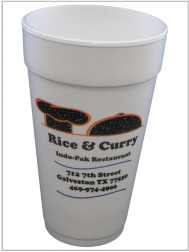 Cup Printing Rice & Curry 3 Colors