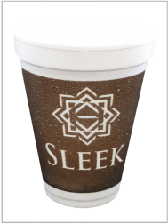 Cup Printing Sleek 1 Color